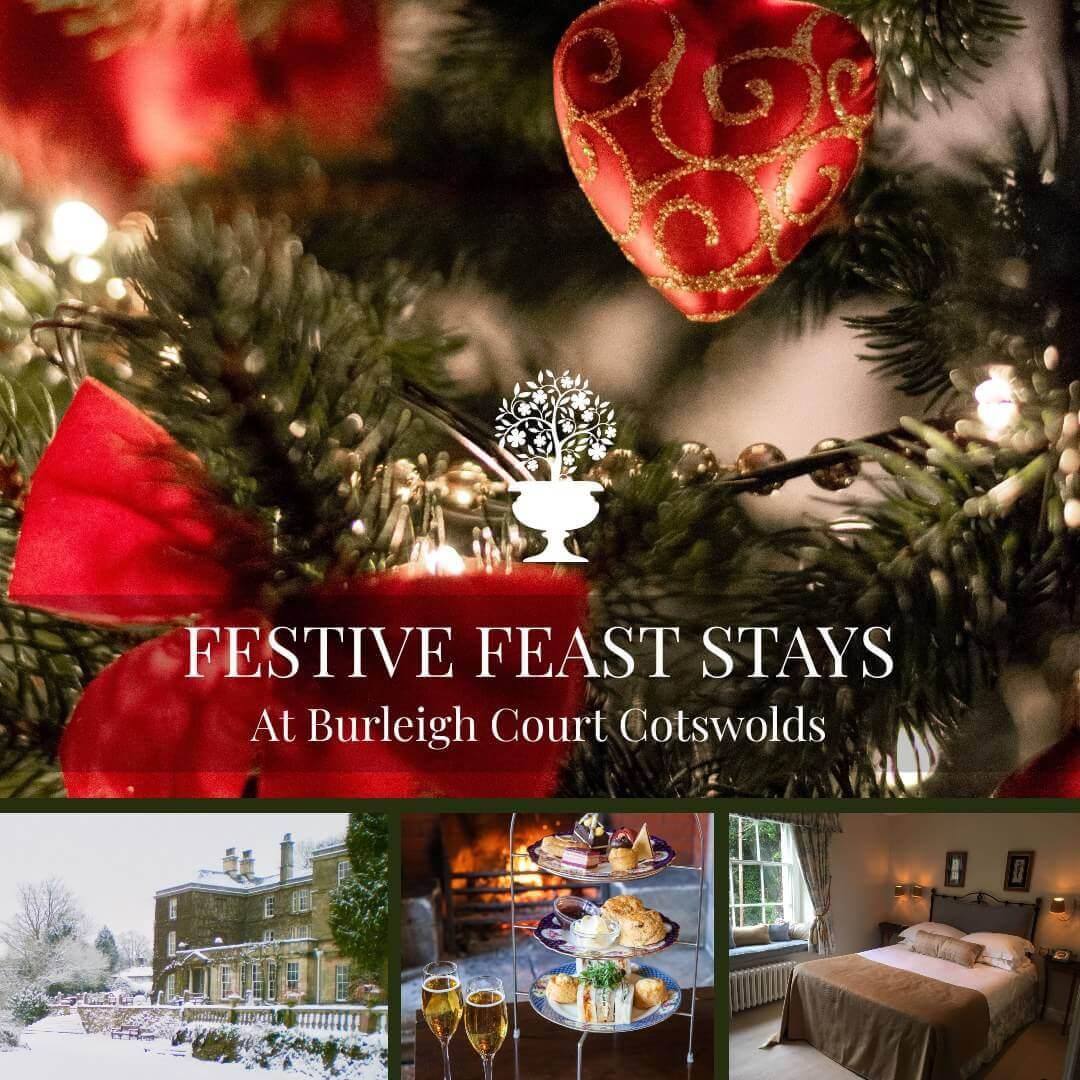 Burleigh Court Restaurant and Hotel Festive Season Christmas