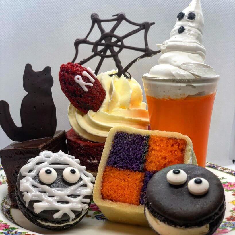 Halloween Afternoon Tea at Burleigh Court